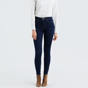 Levi's 721 High Rise Skinny Stretch Jeans